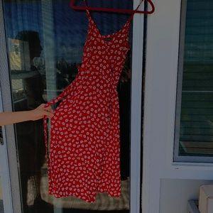 Midi wrap dress - Abercrombie&Fitch